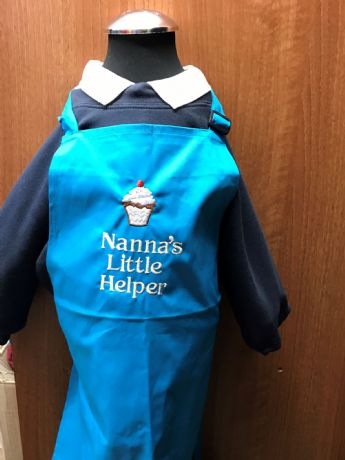 Nanna's Little Helper Kids Apron